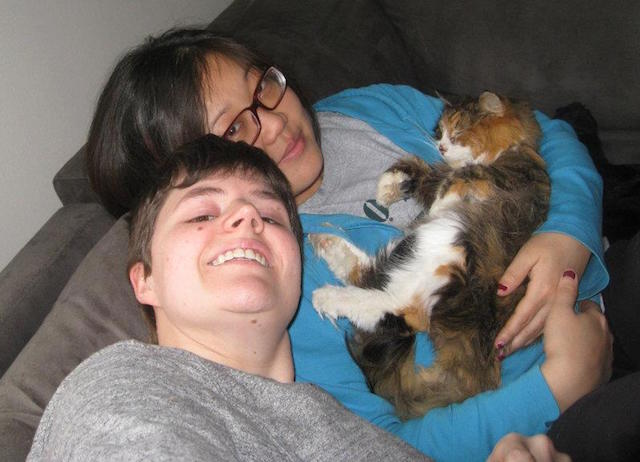 Our last family pic with Kitty cat.