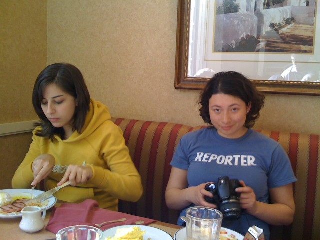 Maybe you could try reporting or photography or breakfast, like Laura M.