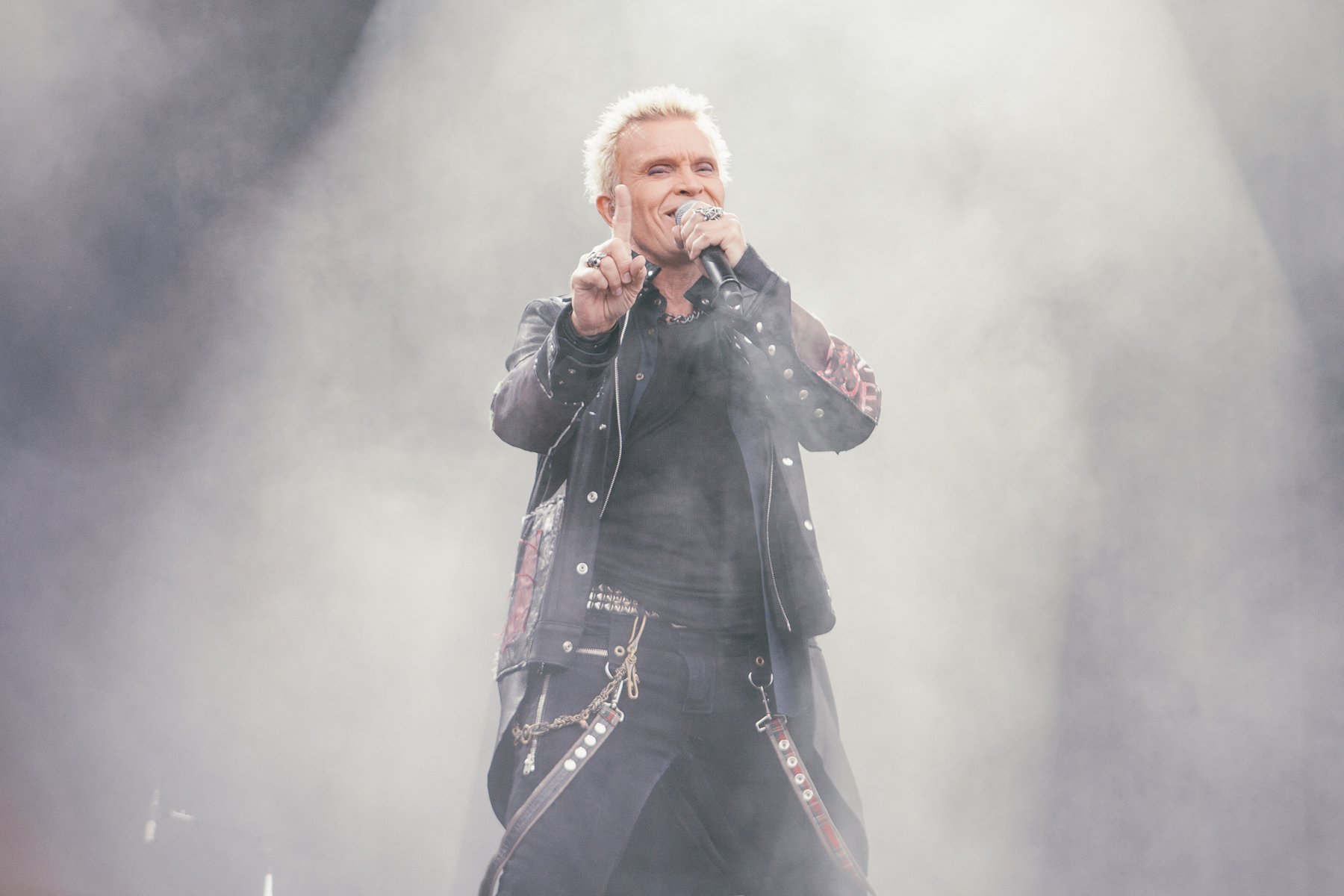 Billy Idol, who was incredible. Like almost as good as that burger.