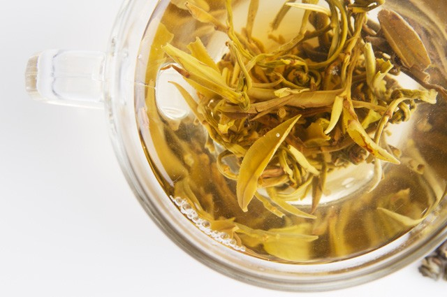 I don't even know what life is like without perfectly steeped white tea anymore. via Shutterstock