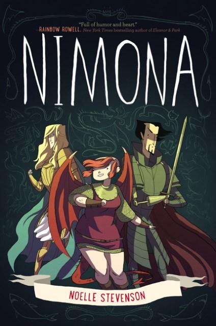 Nimona by Noelle Stevenson.