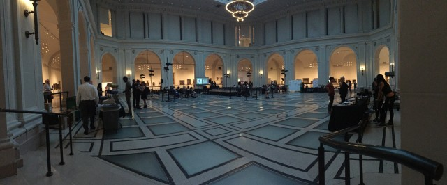Beaux-Arts Hall at the Brooklyn Museum
