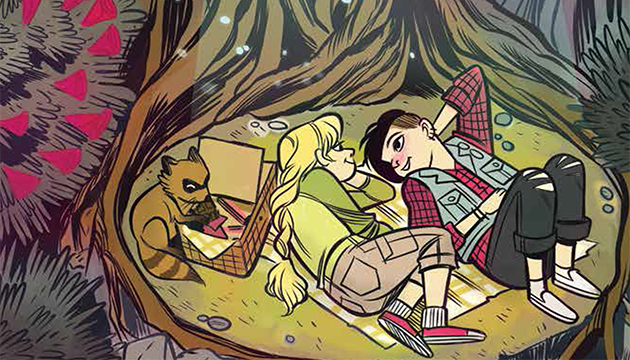 From Lumberjanes #11 cover by Carolyn Nowak