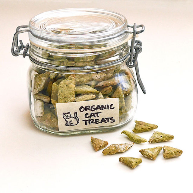 Organic Spinach and Chicken Cat Treats