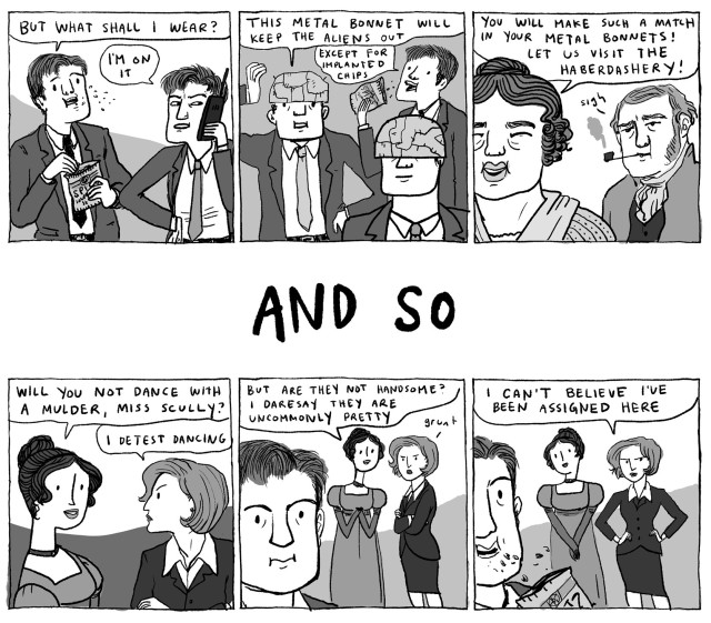 From Step Aside, Pops by Kate Beaton.
