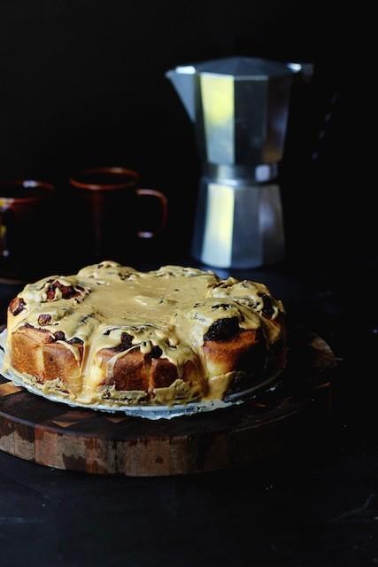 Pecan-Brownie-Buns-with-Espresso-Glaze-3