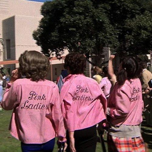 Imagine: the Pink Ladies as unfriendly Black hotties