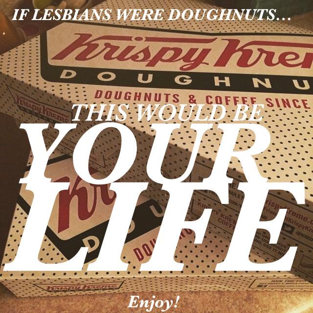 lesbian donuts