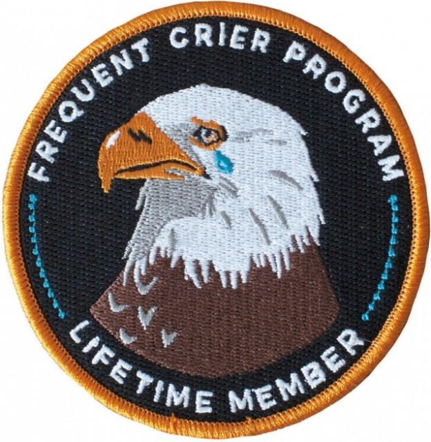 frequent crier program lifetime member patch