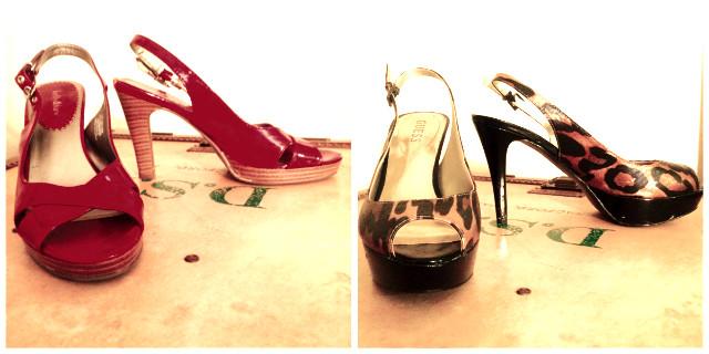 My heels of yore.