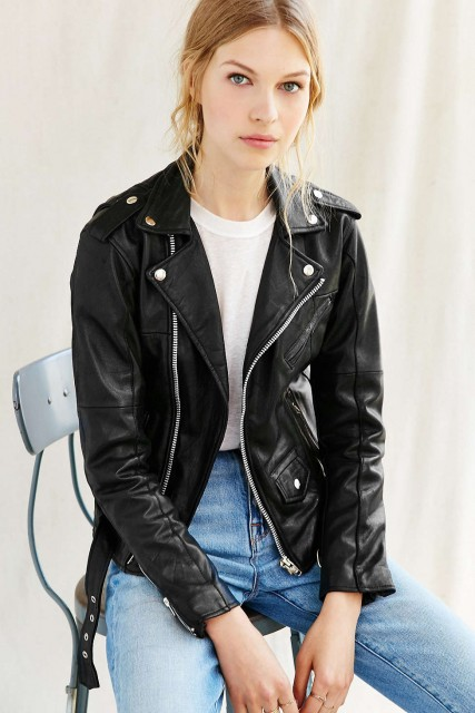 UO Leather Jacket