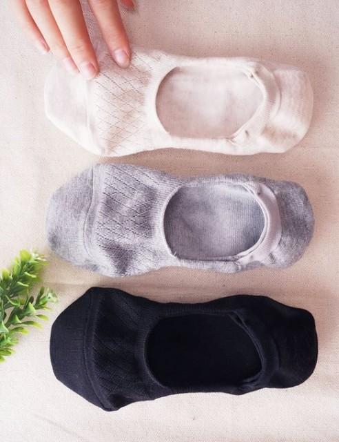 %Vero Monte No Show Socks