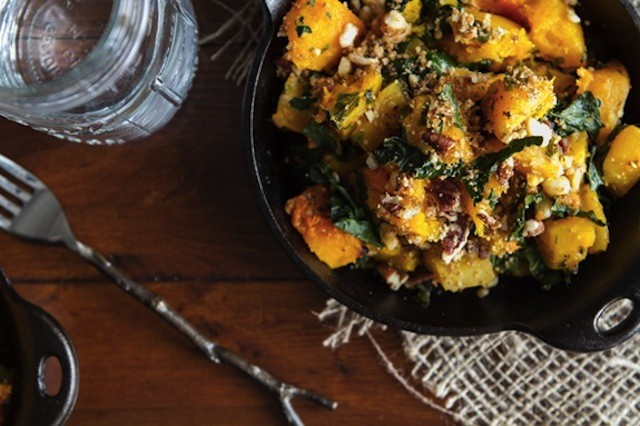 roasted-butternut-squash-with-kale-and-almond-pecan-parmesan
