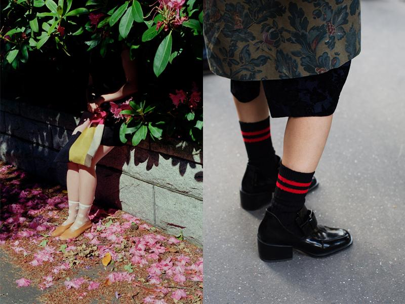 Socks ankle Lesbians in