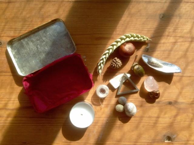 tiny altar pieces