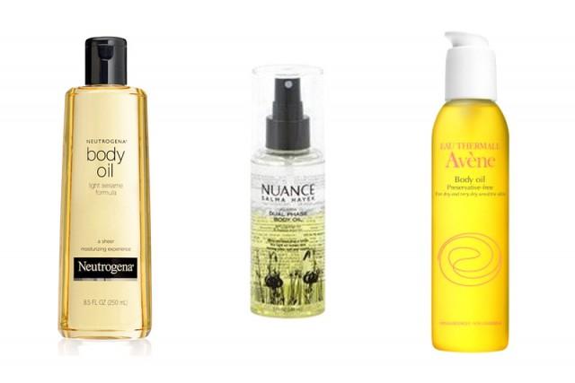 budget body oils