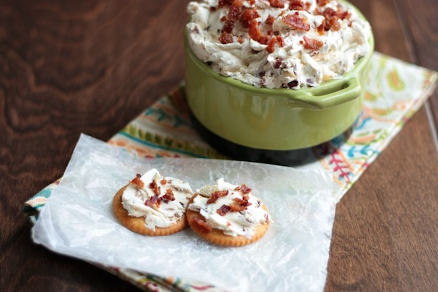 Bacon Olive Cheese Spread