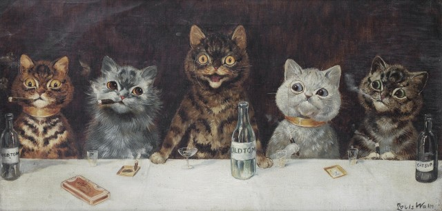 Louis Wain: The Bachelor Party