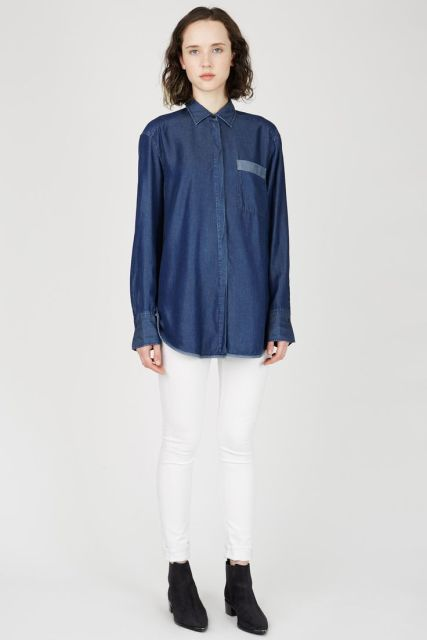 %ACNE denim shirt from Opening Ceremony