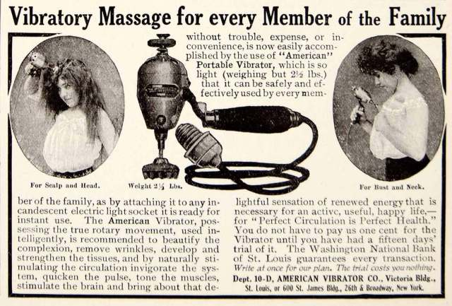 American Vibrator Co., 1906, no source.