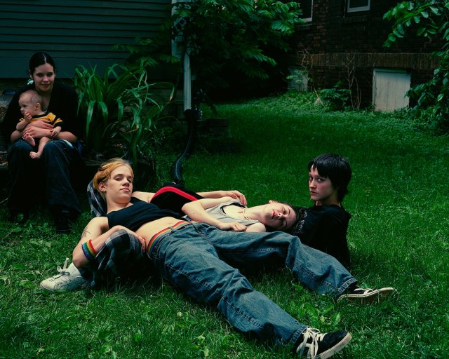 """Ducky and Her Friends, 2008"" in Cedar Rapids, Iowa"