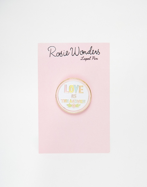 %Love Is The Answer Pin