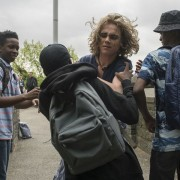 """LAW & ORDER: SPECIAL VICTIMS UNIT -- """"Transgender Bridge"""" Episode 17001 -- Pictured: (l-r) Dante Brown as Darius McCrae, Christopher Dylan White as Avery -- (Photo by: Michael Parmelee/NBC)"""