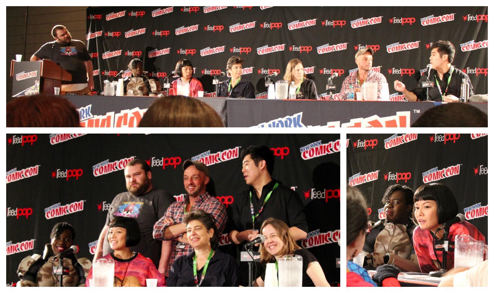 Culturally Queer: The Explosion of LGBTQ Representation in Mainstream Comics & Pop Culture. Moderator: Joey Stern. Panelists: Jay Justice, Annie Ishii, Jennifer Camper, Jennie Wood, Phil Jimenez, Daniel Ketchum.
