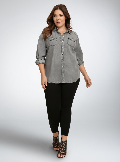 Torrid Denim Shirt