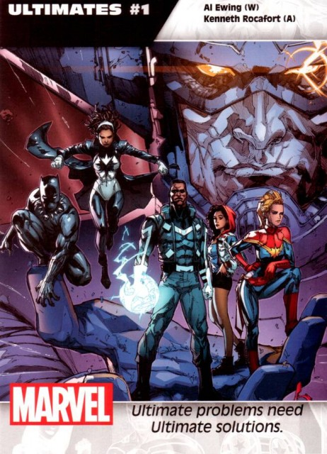 Cover art by Kenneth Rocafort.