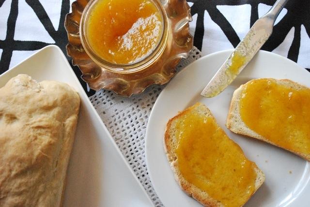 vanilla honey peach butter