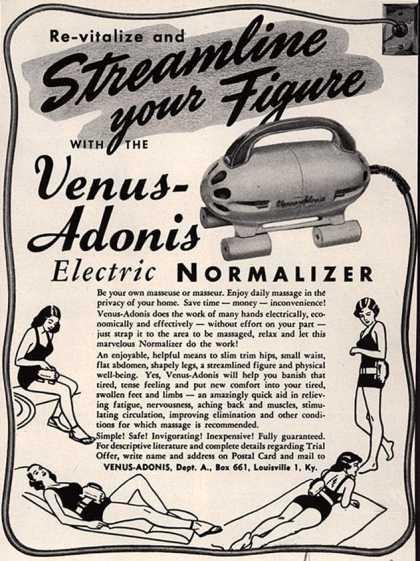 Venus Adonis, 1950s, no original source.