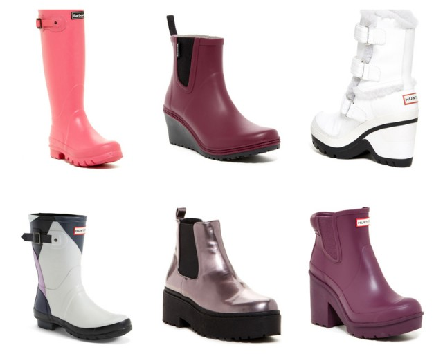 3541e9d5993 All of these are at Nordstrom Rack right now! The bubble gum pink Barbour  wellies are a bold choice