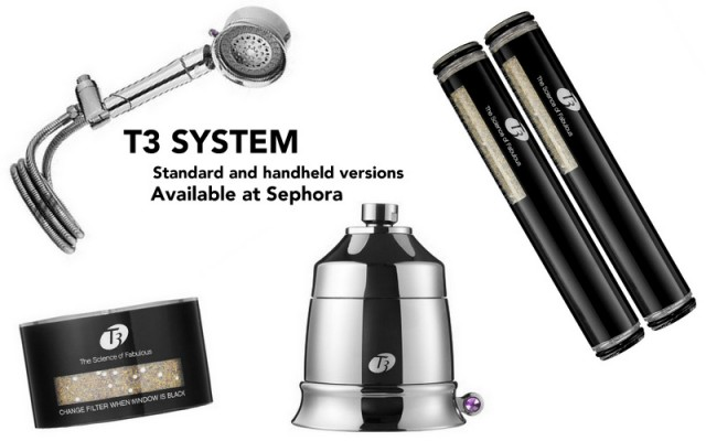 t3 source handheld shower filter 150 at sephora replacement filters 30 for 2 t3 source shower filter 130 at sephora replacement filter 25 each