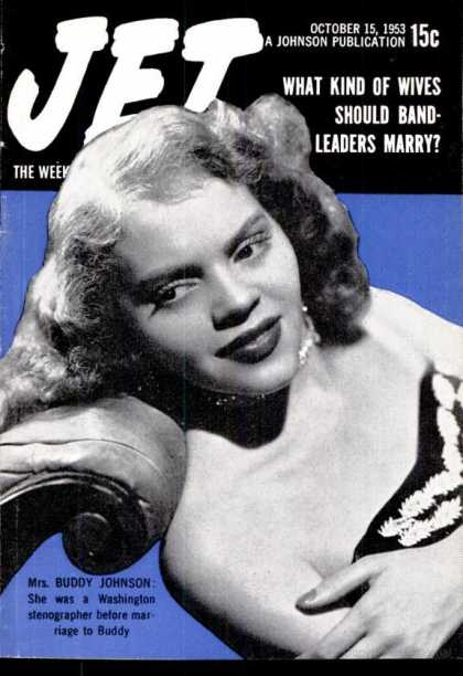 Carlett Brown on the cover of Jet Magazine.
