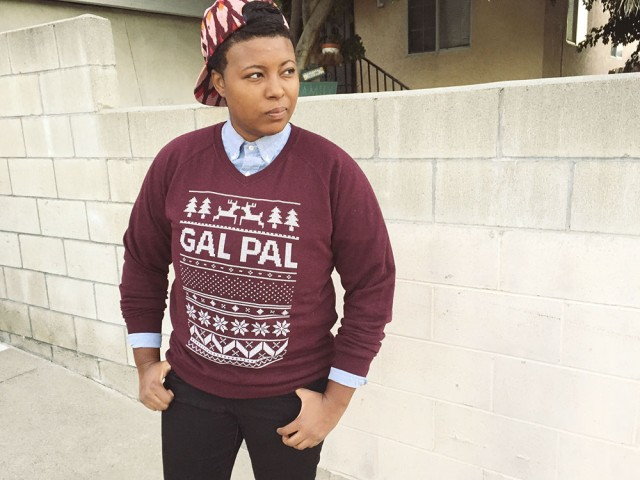 Gal Pal Holiday Sweater
