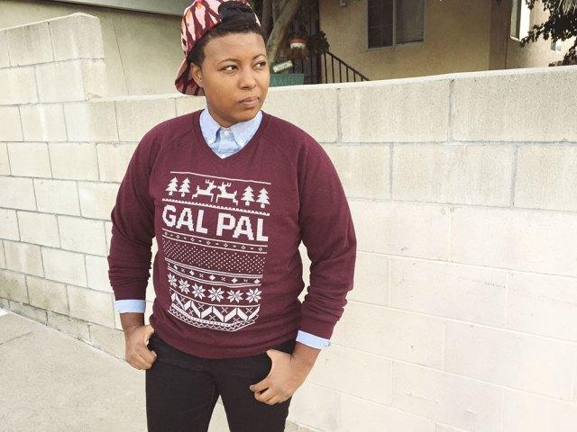 Gal Pal Holiday Sweater