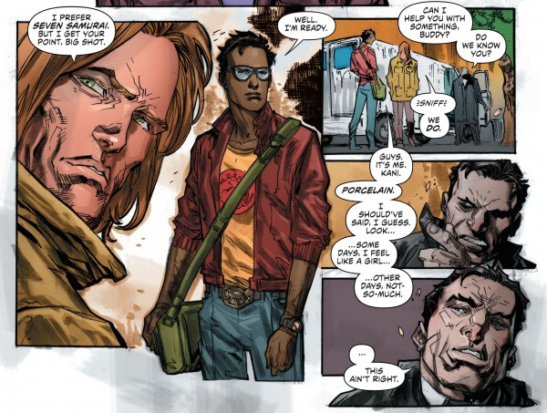 From Secret Six #4 with art by Ken Lashley and Tom Derenick.