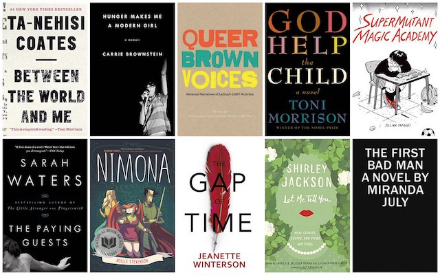 almost best queer feminist books 2015 - Books On Color Theory