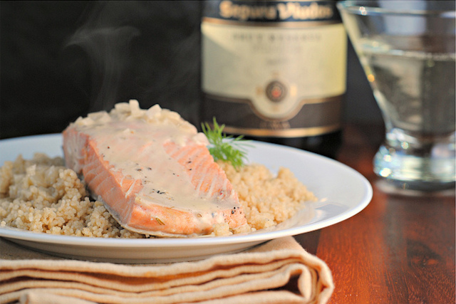 champagne-poached-salmon-with-champagne-cream-sauce