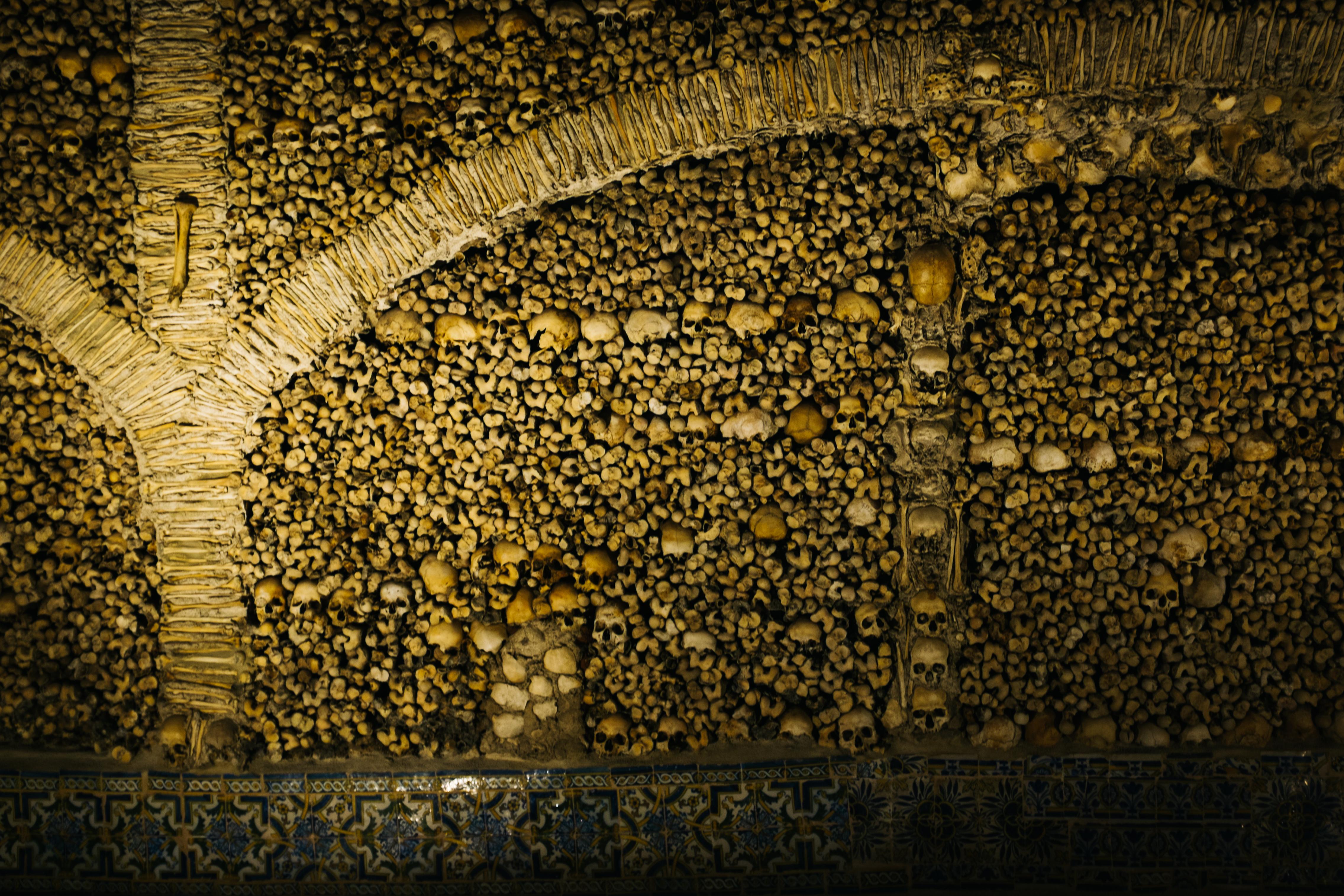 Inside the Chapel of Bones