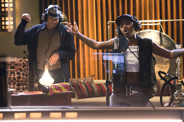 """EMPIRE: L-R: Terrence Howard and guest star Bre-Z in the """"True Love Never"""" episode of EMPIRE airing Wednesday, Nov. 11 (9:00-10:00 PM ET/PT) on FOX. ©2015 Fox Broadcasting Co. Cr: Chuck Hodes/FOX."""