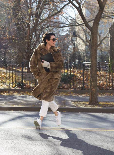 Garance Dore in NYC