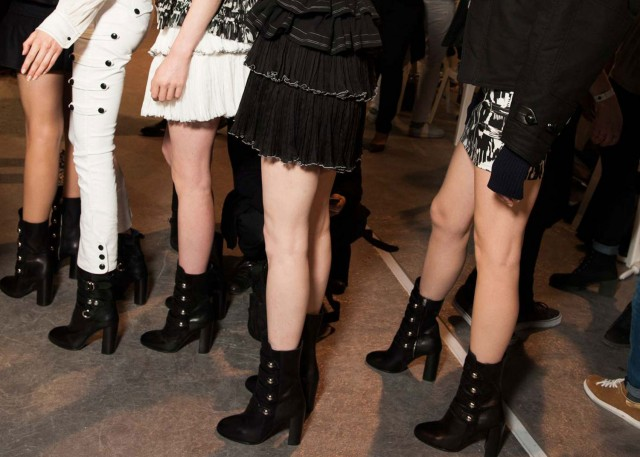 isabel-marant-midi-ankle-boots-fall-2015-backstage-main