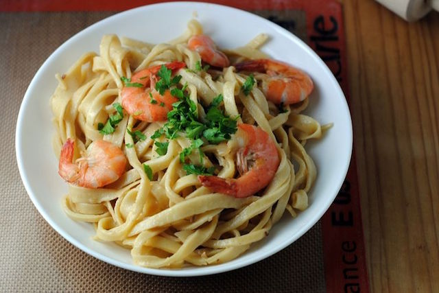 tagliatelle-with-shrimp-and-champagne-butter-sauce