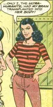 The Ultra-Humanite in Action Comics #20 with art by Joe Shuster.