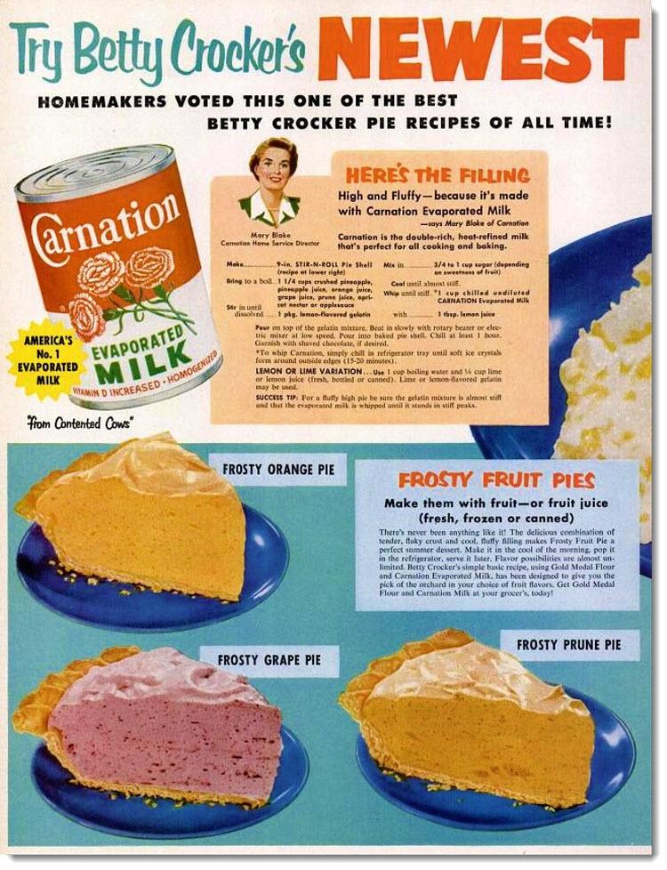 Is it Frosty Orange pie? BE honest.