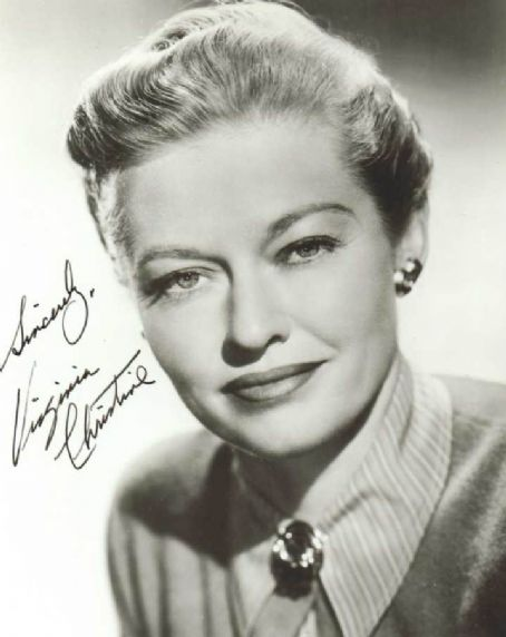 Actress Virginia Christine