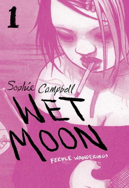 The new Wet Moon Vol. 1 cover art by Annie Mok.