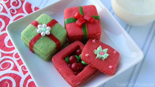 3D Present Cookies